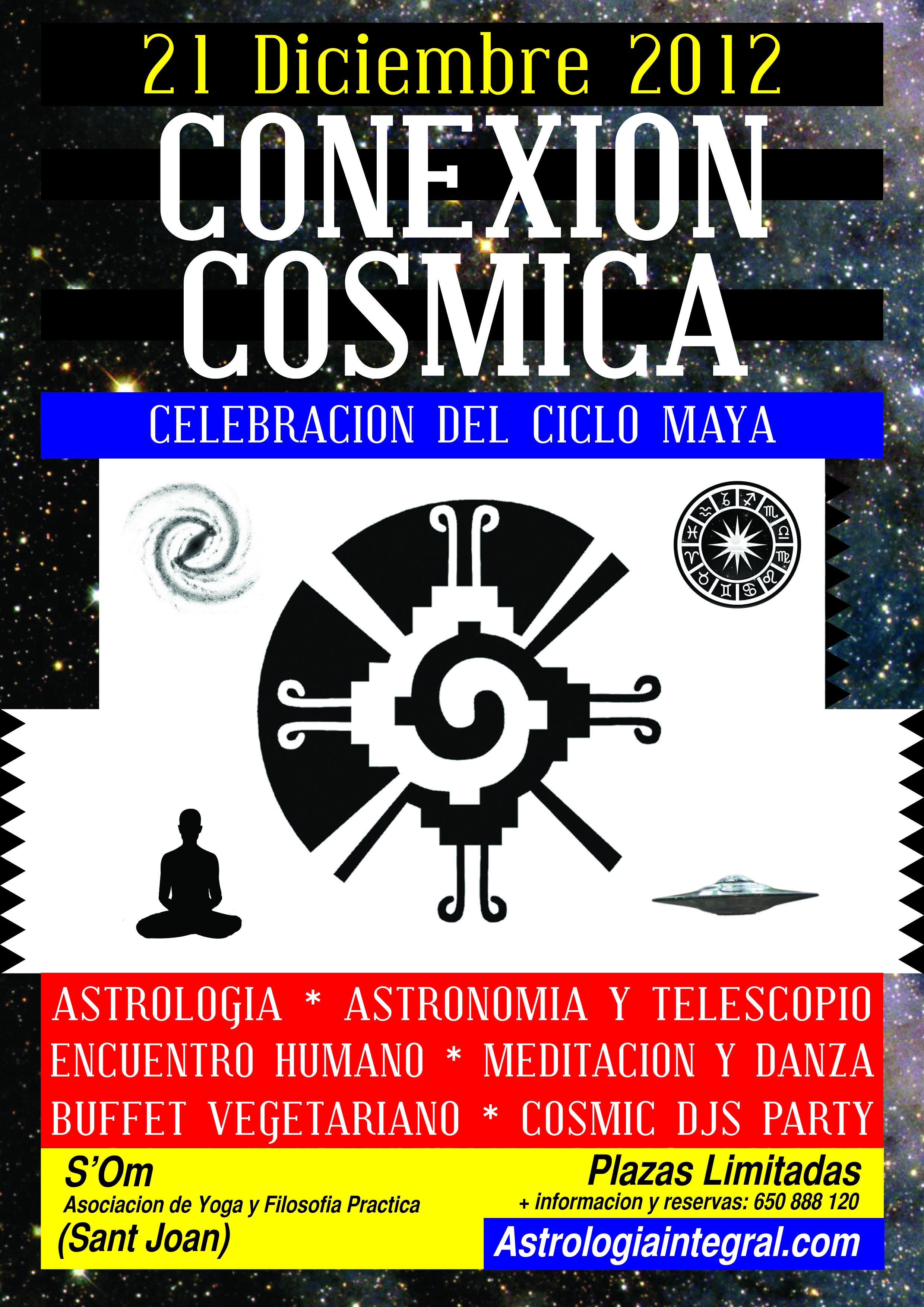 Conexión Cósmica 2012 Celebración del Ciclo Maya