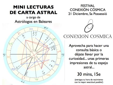 Mini Lecturas Carta Astral en Festival Conexión Cósmica .001