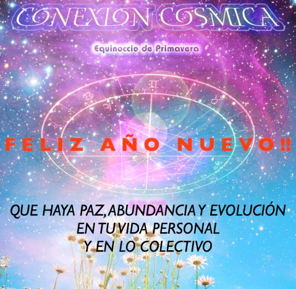 Conexión Cósmica -Feliz Año Nuevo