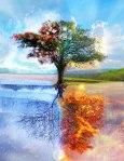 4 elements tree