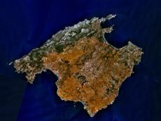 Mapa-satelital-de-Isla-Mallorca