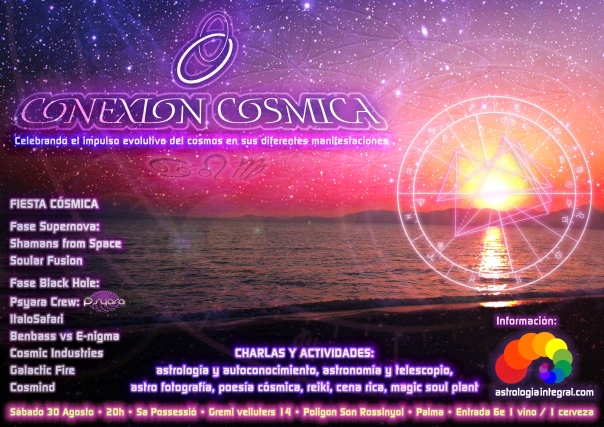 Festival Conexión Cósmica Verano 2014