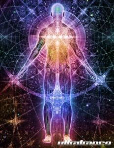 fractal human image