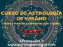 CURSO DE ASTROLOGÍA DE VERANO: Julio-Septiembre 2017, nivel introducción ymedio