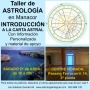 "21 Abril TALLER en MANACOR: ""Introducción rápida a la Carta Astral"""