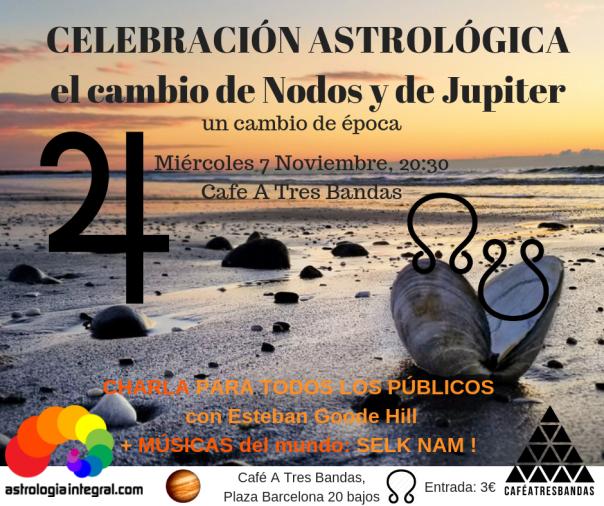 CELEBRACIÓN ASTROLÓGICA el cambio de Nodos y de Jupiter (1)