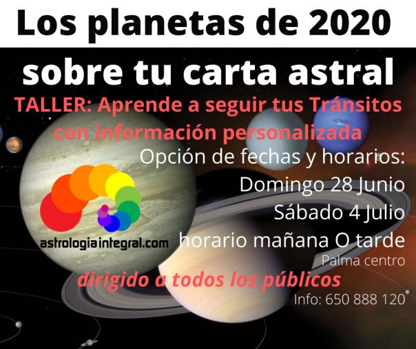 Los planetas de 2020 sobre tu carta astral